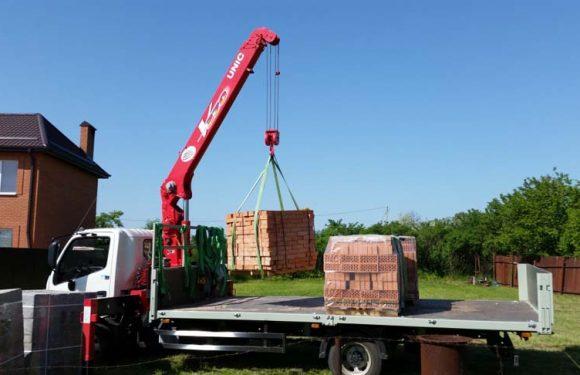 Как правильно перевозить строительные материалы